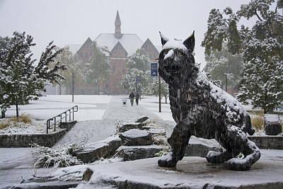 Spirit In The Snow Art Print by Nick Garner