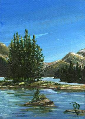 Painting - Spirit Lake by Donna Page