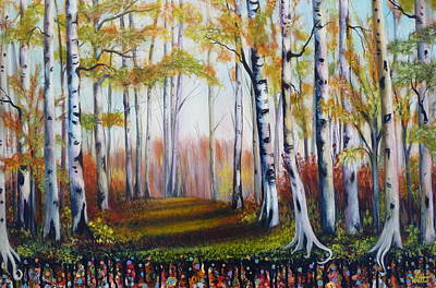 Mystical Landscape Painting - Spirit Land by Tammy Watt