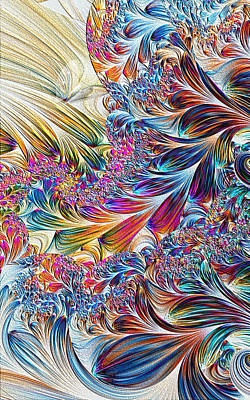 Art Print featuring the digital art Spirit by Lea Wiggins