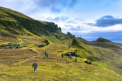 Photograph - Spirit Of Adventure On Skye - Scottish Landscape by Mark E Tisdale