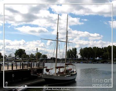 Lake Erie Photograph - Spirit Of Buffalo Topsail Schooner by Rose Santuci-Sofranko