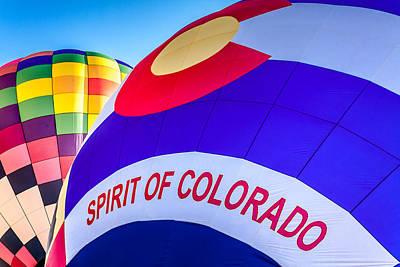 Photograph - Spirit Of Colorado Balloon by Teri Virbickis