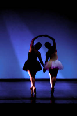 Music Figurative Potraits - Spirit of dance 1 - a backlighting of a ballet dancer by Pedro Cardona Llambias
