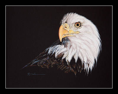 Painting - Spirit Of Freedom Bald Eagle by Mary Dove