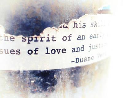 Spirit Of Love Art Print