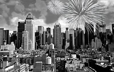 Spirit Of New York City Art Print by Diana Angstadt
