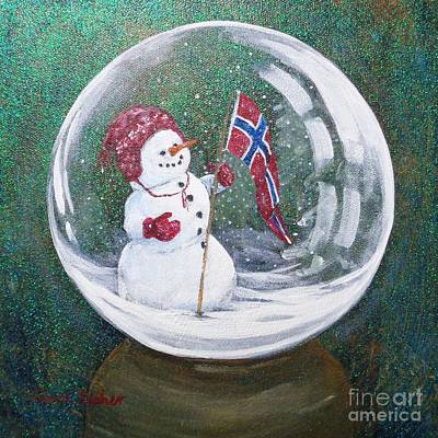 Painting - Spirit Of Norway by Susan Fisher
