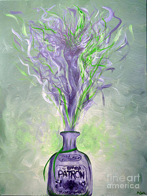 Spirit Of Patron Silver Goddess Original