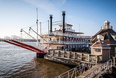 Peoria Photograph - Spirit Of Peoria Riverboat In Peoria Illinois by Paul Velgos