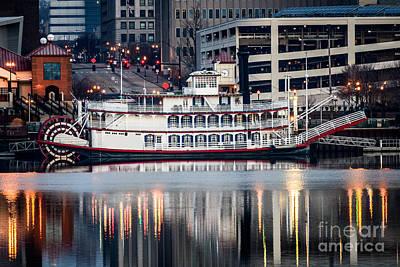 Spirit Of Peoria Riverboat Art Print