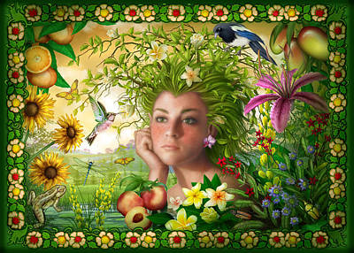 Nature Digital Art - Spirit Of Summer by Ciro Marchetti