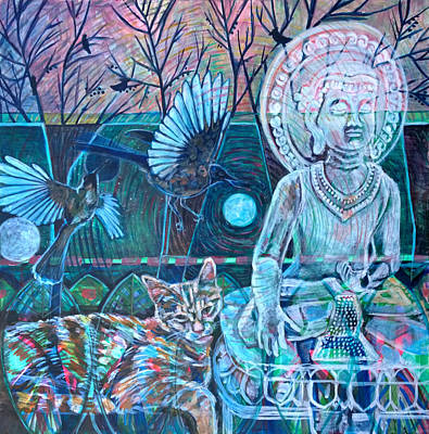 Buddha-nature Painting - Spirit Of Surrender by Elizabeth D'Angelo