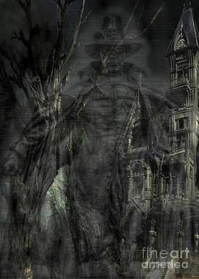 Spirit Of The Inquisitor Art Print by Dan Stone