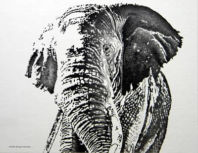 Spirit Of The Serengeti Art Print