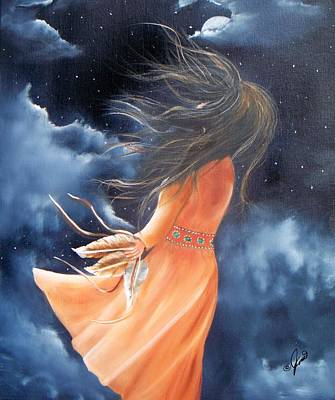 Spirit Of The Wind Art Print by Joni McPherson