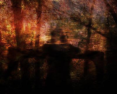 Digital Art - Spirit Of The Woods by Jay Swisher