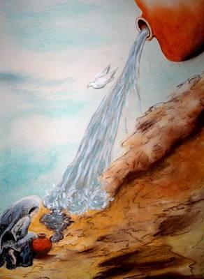 Spirit Released Art Print by Donna Bigley