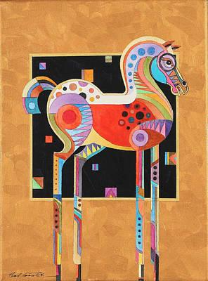 Imaginative Art Painting - Spirit Stallion II by Bob Coonts