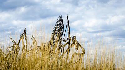 Photograph - Spirit Warriors Of Little Bighorn by Debra Martz