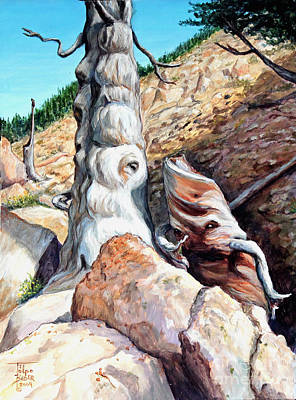 Painting - Spirits Of Limber Grove by Art By - Ti   Tolpo Bader