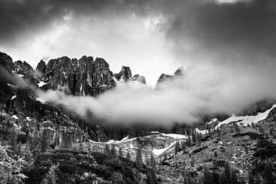 Cloud Photograph - Spirits Of The Mountains by Yuri Santin