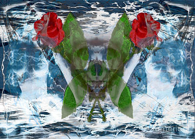 Digital Art - Spirits Rage by Asegia