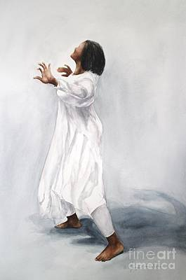 Painting - Spiritual Dance by Kyong Burke