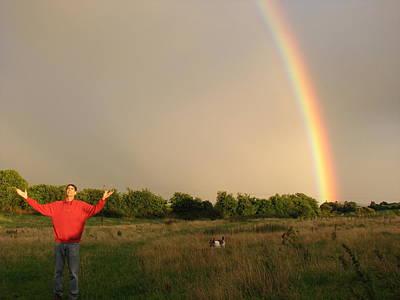 Photograph - Spiritual Radiant  Light With George  by Joseph Doyle