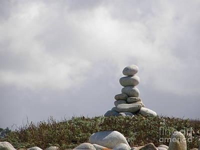 Spiritual Rock Sculpture Art Print