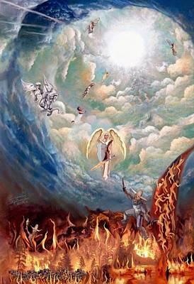 Spiritual Warfare Painting - Spiritual Warfare by Susanna  Katherine
