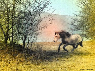 Spiritus Equus Original by Patricia Keller