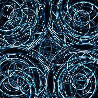 Spirograph Art Print by Krazee Kustom