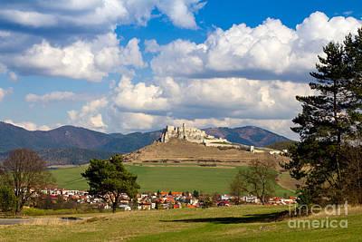 Photograph - Spissky Hrad - Castle by Les Palenik