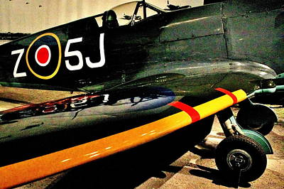 Photograph - Spitfire by Benjamin Yeager