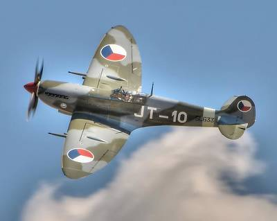 Photograph - Spitfire by Jeff Cook