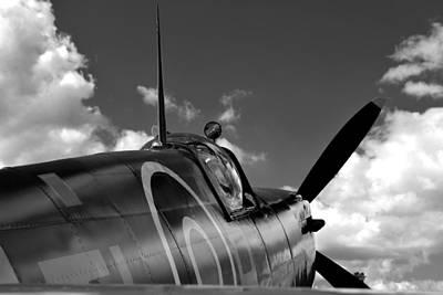 Photograph - Spitfire by John Flack