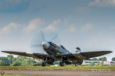 Photograph - Spitfire Mk 19 by Rob Heath