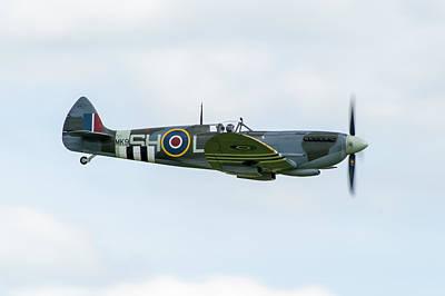 Photograph - Spitfire Mk Ix by Gary Eason