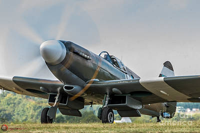 Photograph - Spitfire Mk14 Crop by Rob Heath