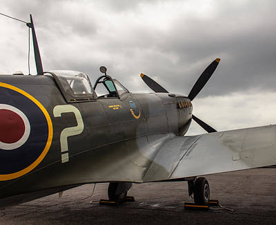 Photograph - Spitfire On Display by Jorge Perez - BlueBeardImagery