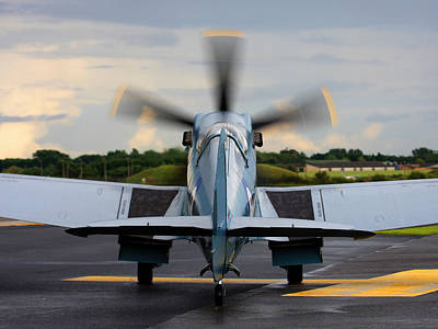 Spitfire Ps915 Original by Keith Campbell
