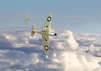 Spitfire Photograph - Spitfire - '....to So Few' by Pat Speirs