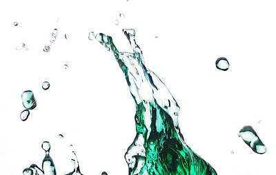 Splash 12 Art Print