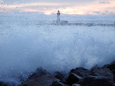 Duluth Photograph - Splash by Alison Gimpel