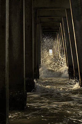 Photograph - Splash by Curtis Dale