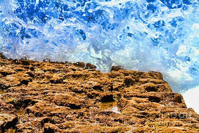 Photograph - Splash In La Jolla By Diana Sainz by Diana Raquel Sainz