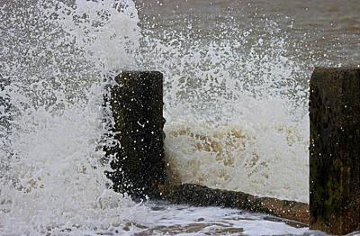 Beach Landscape Photograph - Splash by Martin Newman