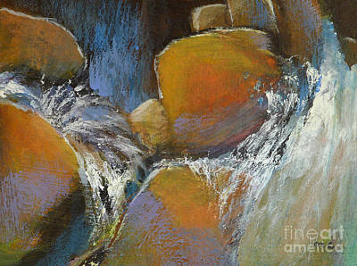 Waterscape Painting - Splash by Melody Cleary
