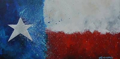 Painting - Splash Of Texas by Patti Schermerhorn